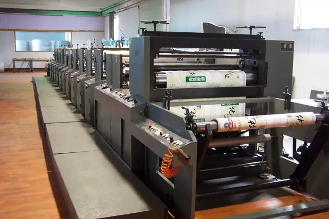 The management of anilox roll of flexographic press starts from these three parts